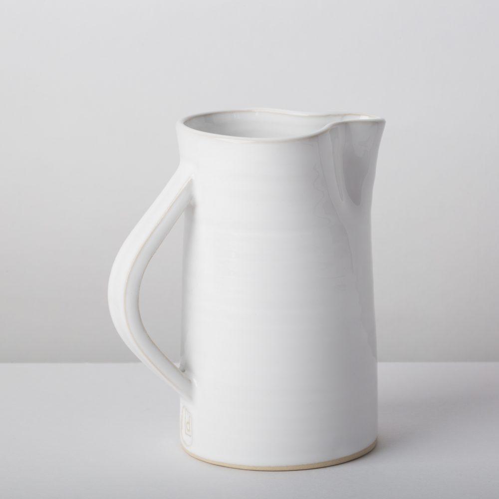Diem Pottery Creamer Jug White