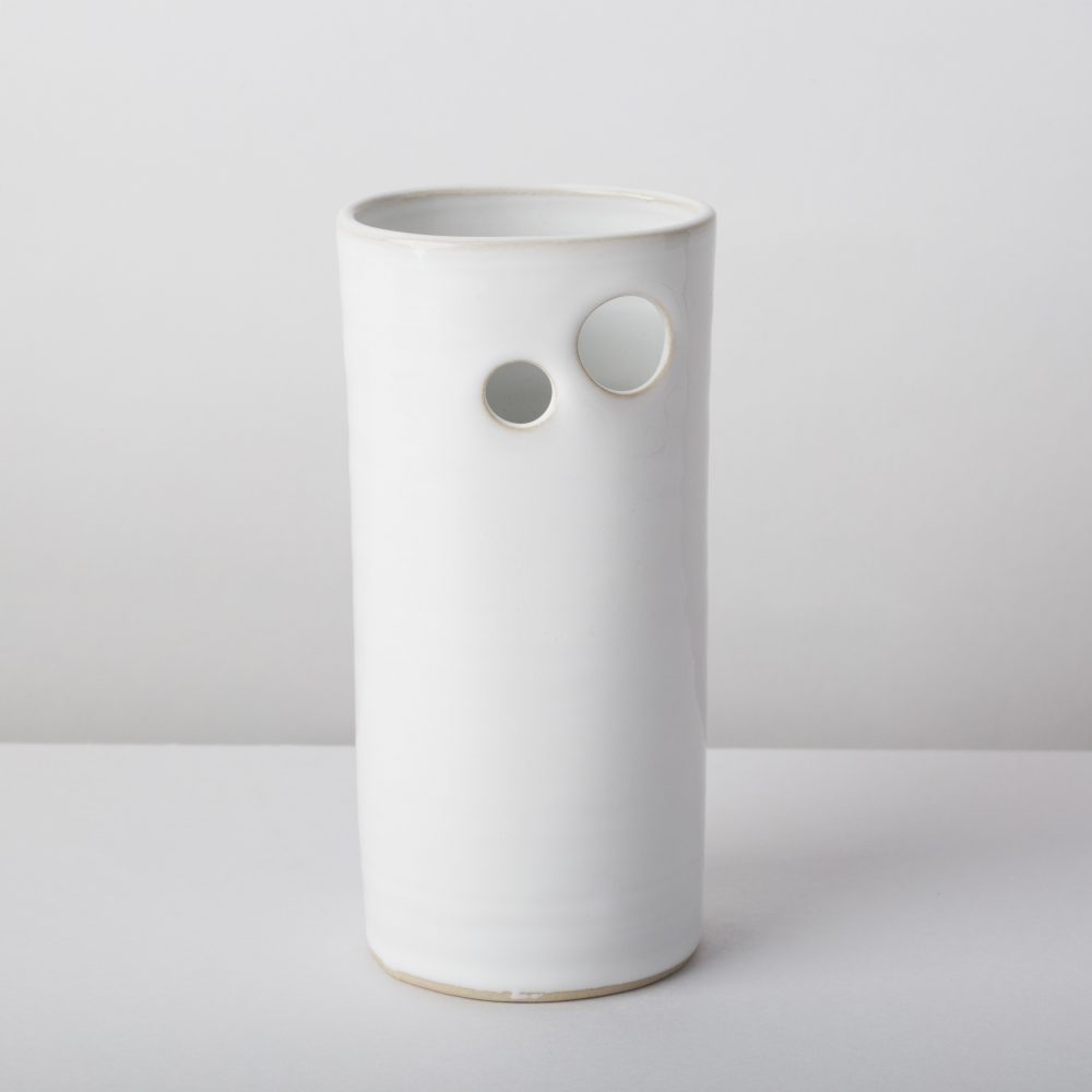 Diem Pottery Vase Small White
