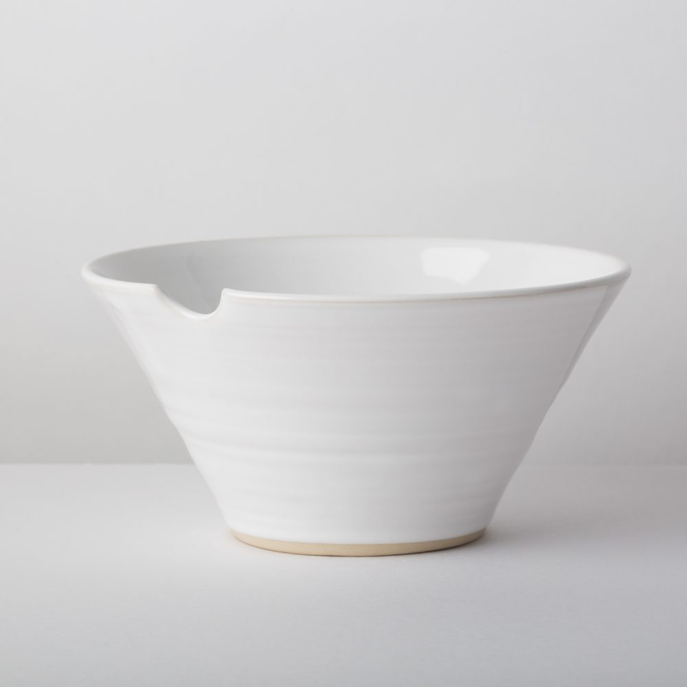 Diem Pottery Bowl Small White