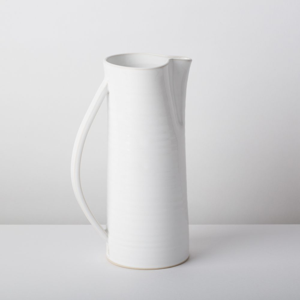 Diem Pottery Jug Large White