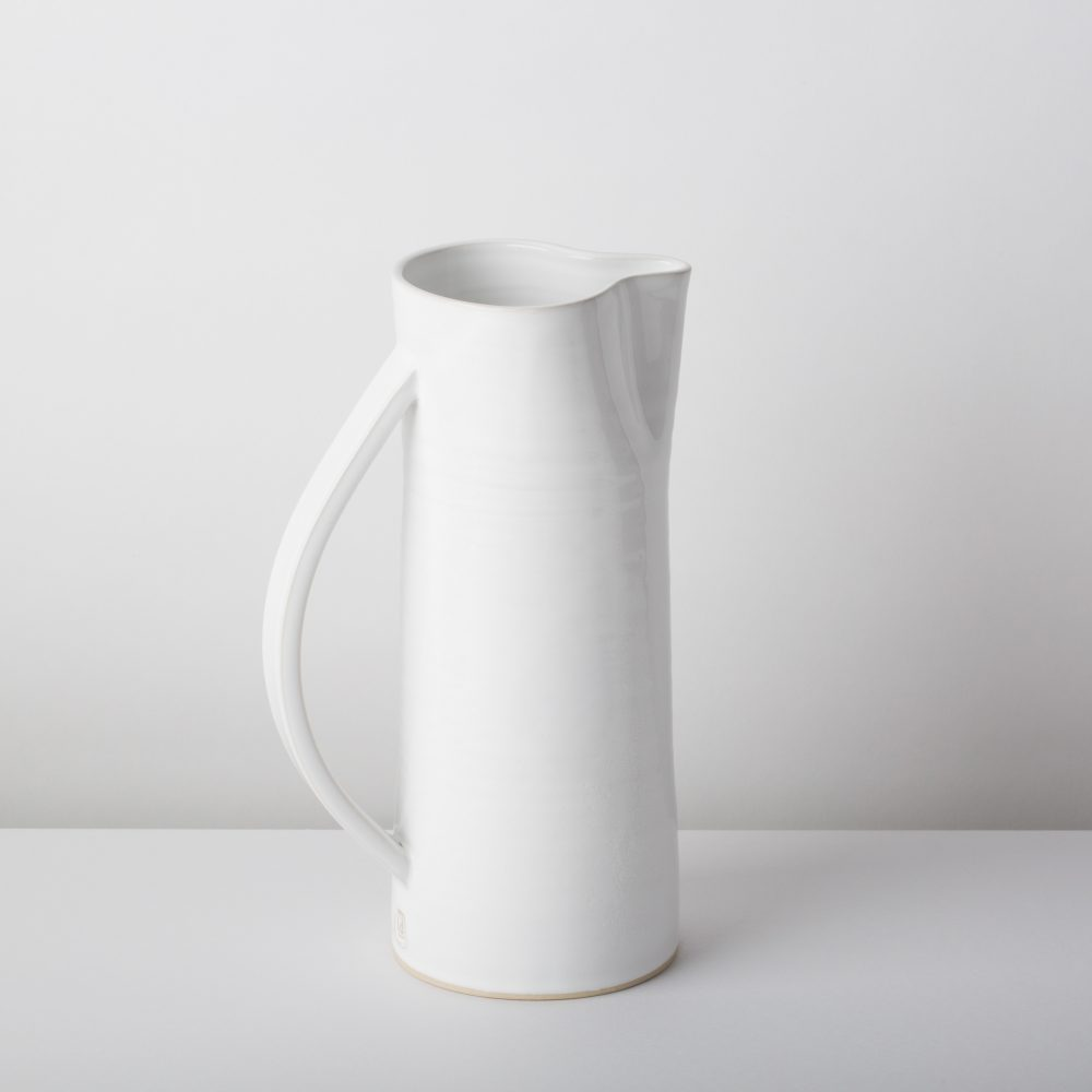 Diem Pottery Jug Medium White